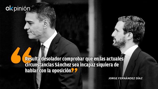 La pandemia de España es su Gobierno