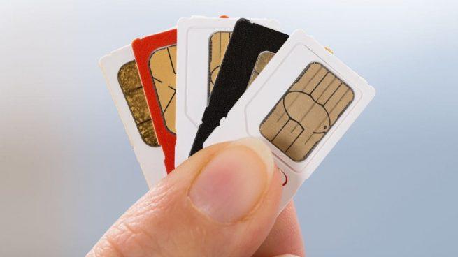 cambiar la tarjeta SIM