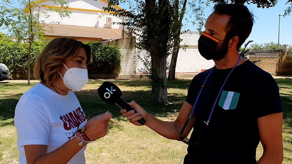 Álvaro Ojeda entrevista a Susana Díaz.