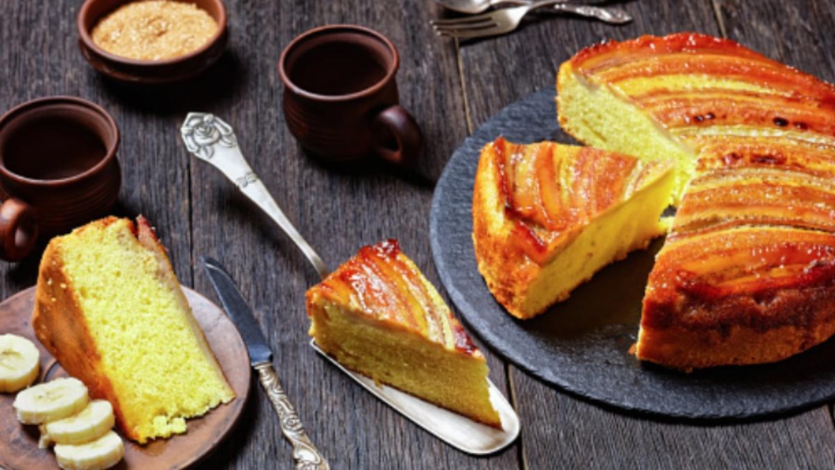 5 recetas de bizcocho de plátano, dulces deliciosos con menos azúcar