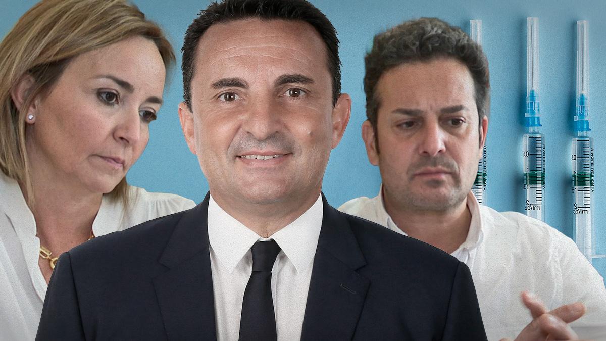 Alcaldes 'vacunajetas' de Alicante.