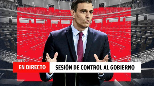 Sesión de control al Gobierno Pedro Sánchez