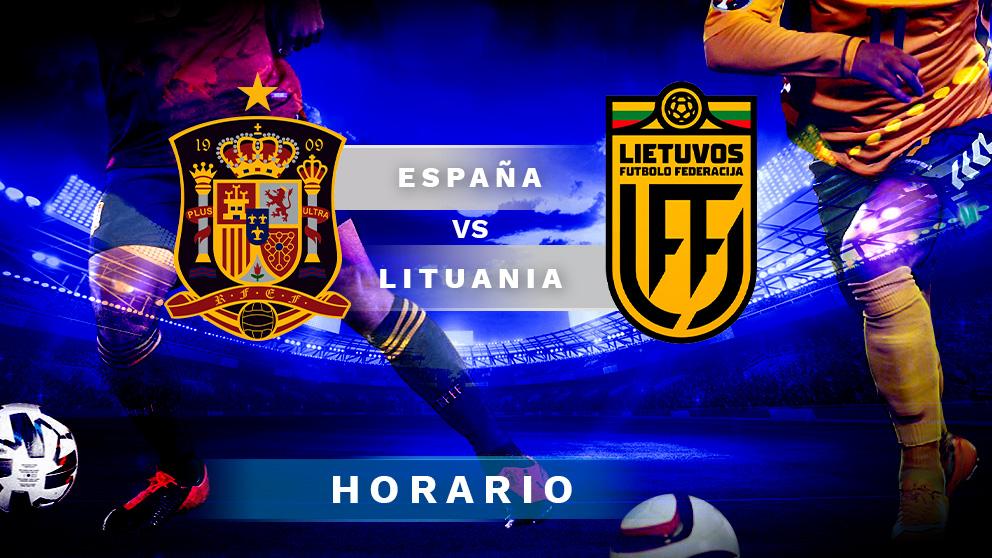 España – Lituania: partido amistoso antes de la Eurocopa.