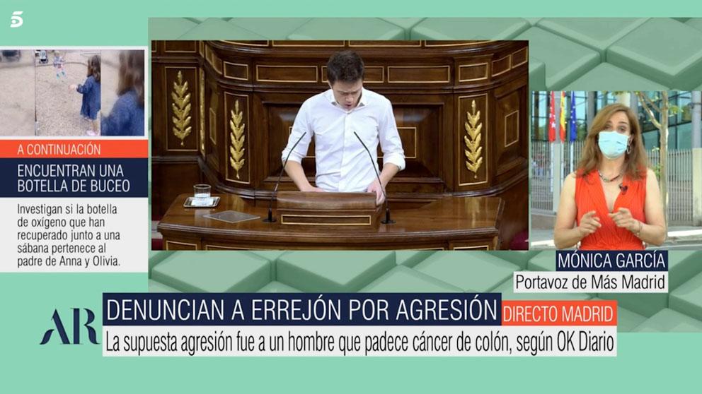 Mónica García en 'El Programa de Ana Rosa'.