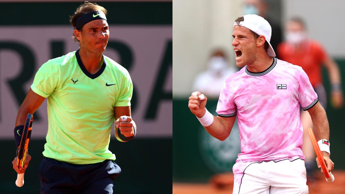 Nadal se mide este miércoles a Schwartzman en cuartos de final de Roland Garros (Getty)