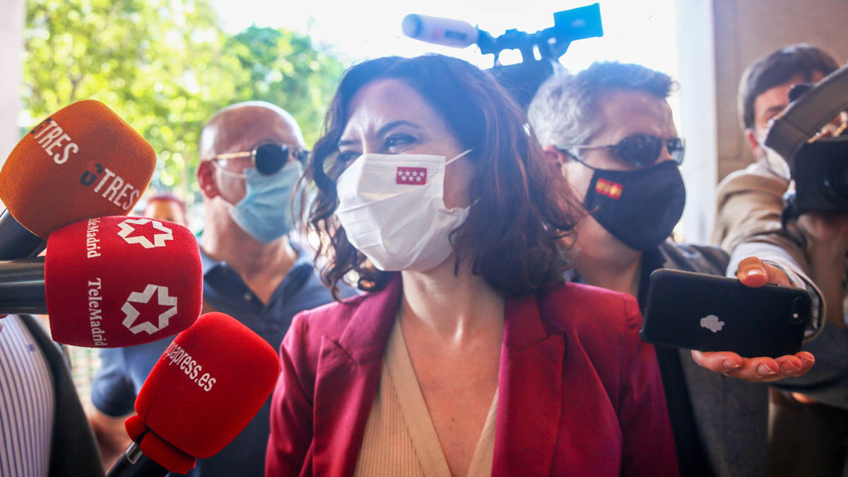 Isabel Díaz Ayuso (Foto: EP