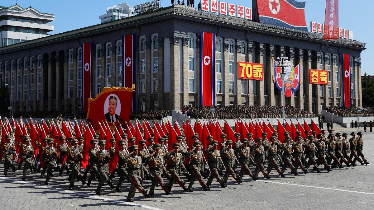 Desfile en Corea del Norte