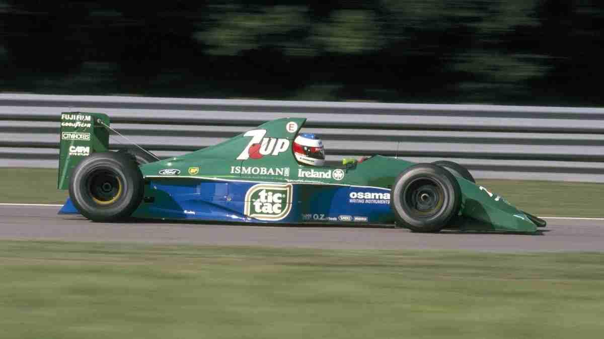 El Jordan 191, el coche con el que debutó Michael Schumacher en Fórmula 1. (Speedmaster Cars)