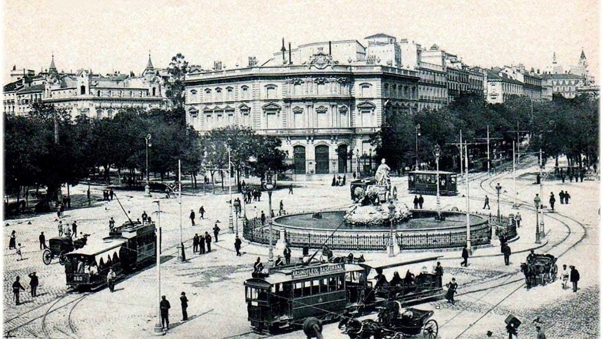 Fotografía de la candidatura del Paseo del Prado y El Retiro como Patrimonio Mundial de la UNESCO.