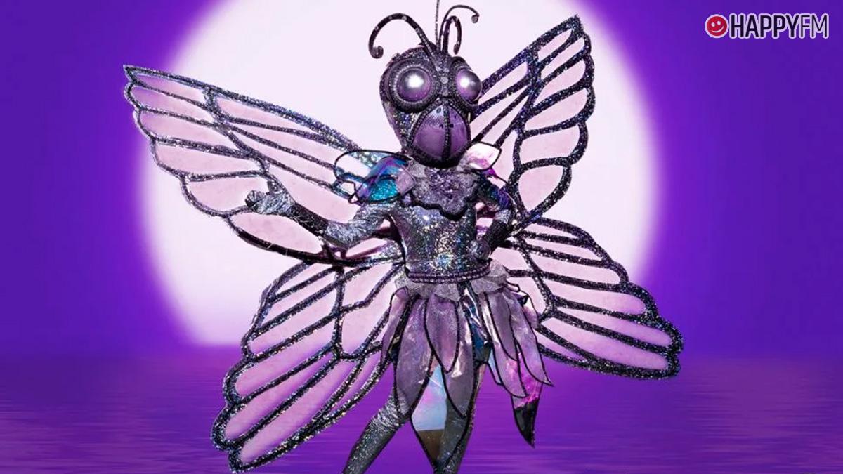 Mariposa en Mask Singer