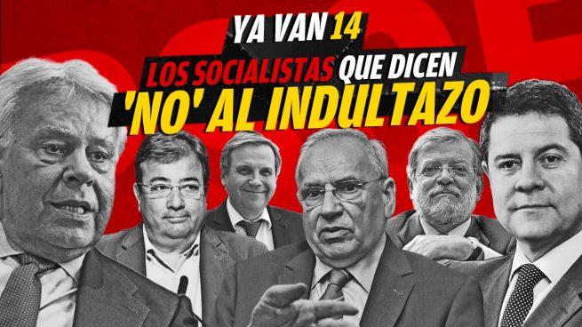 Los socialistas que dicen 'no' al indultazo