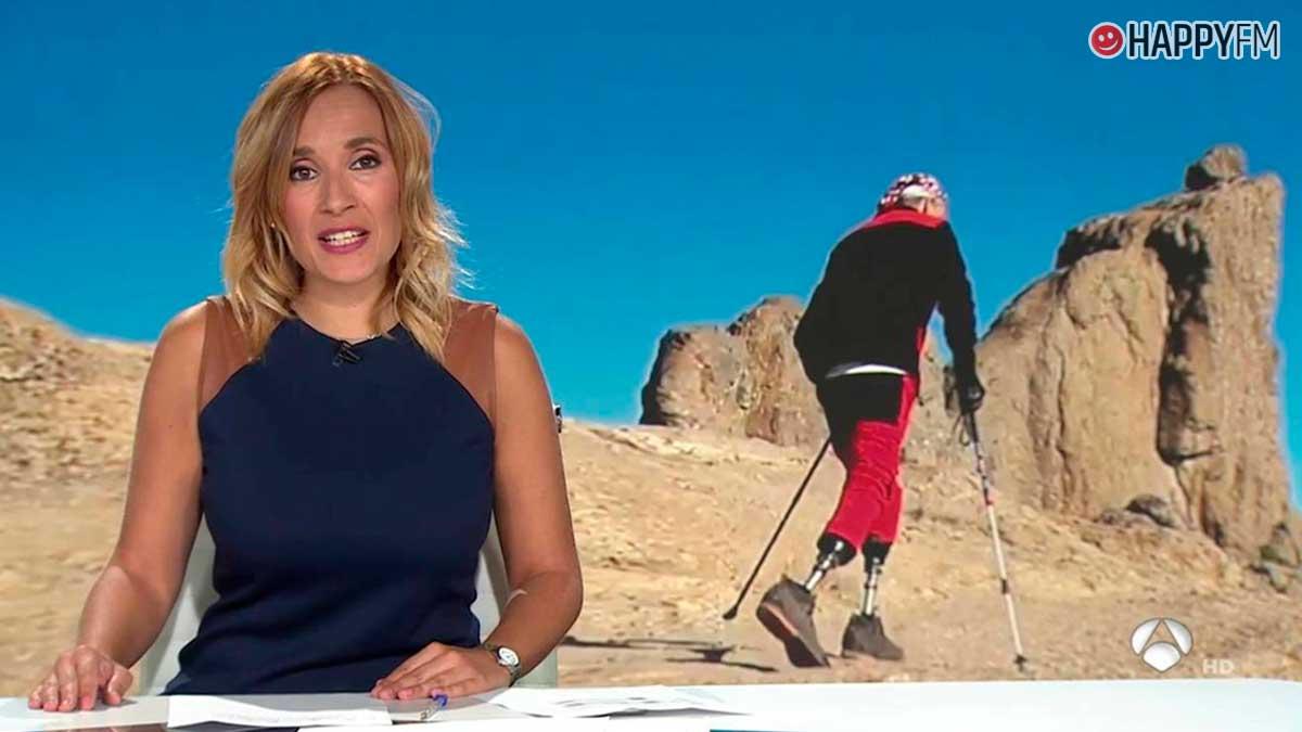 Rocío Martínez, presentadora de Antena 3 noticias