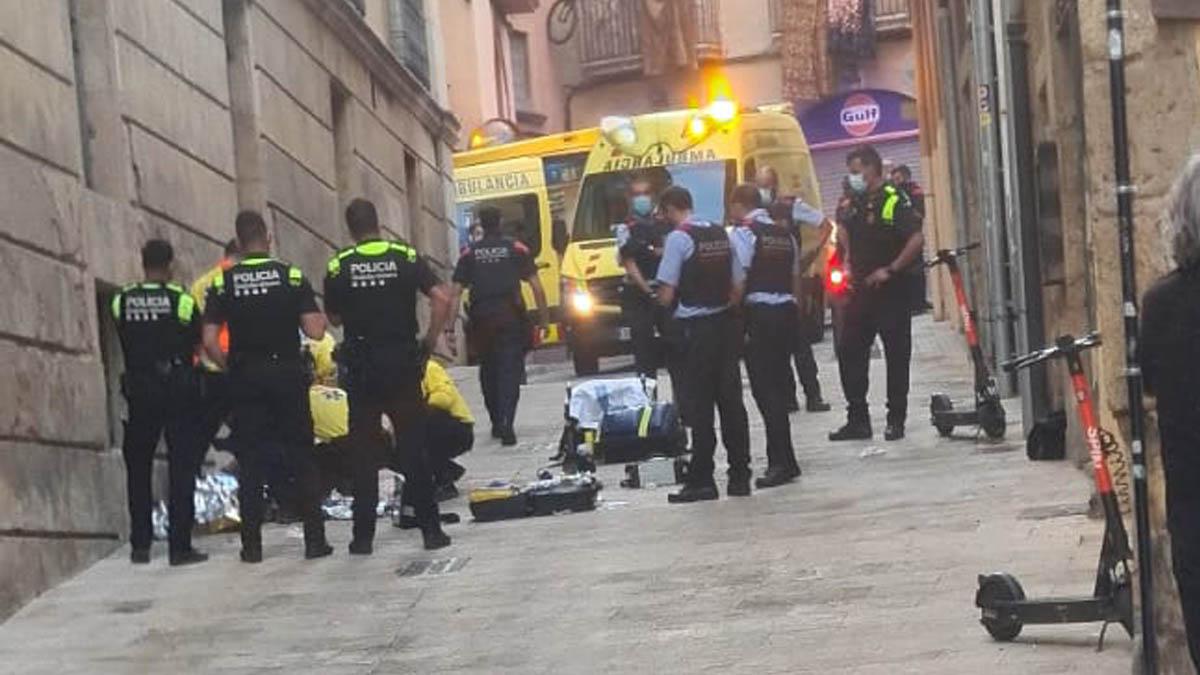 Pelea en las calles de Tarragona.