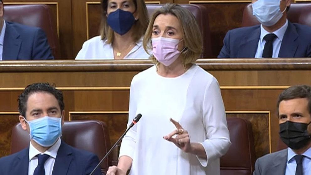 Cuca Gamarra, portavoz del PP en el Congreso.