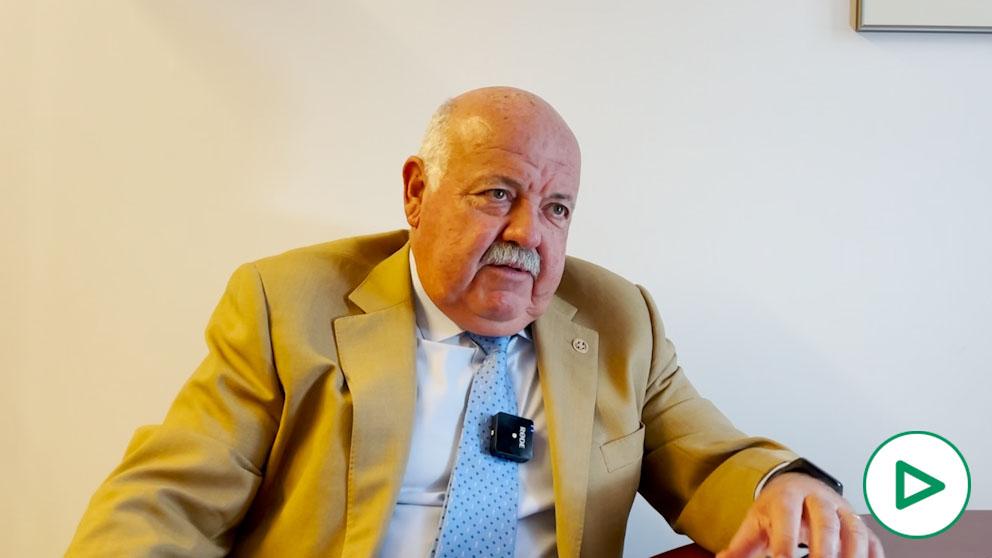 Jesús Aguirre, consejero de Salud de la Junta de Andalucía.