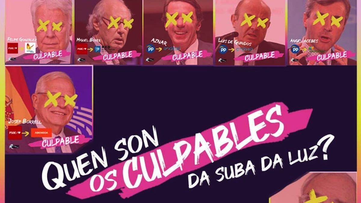Campaña de las juventudes de Podemos.