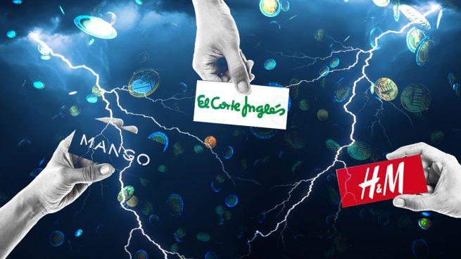 El Corte Inglés, Mango y H&M agudizan su guerra de ofertas por la acumulación de stock