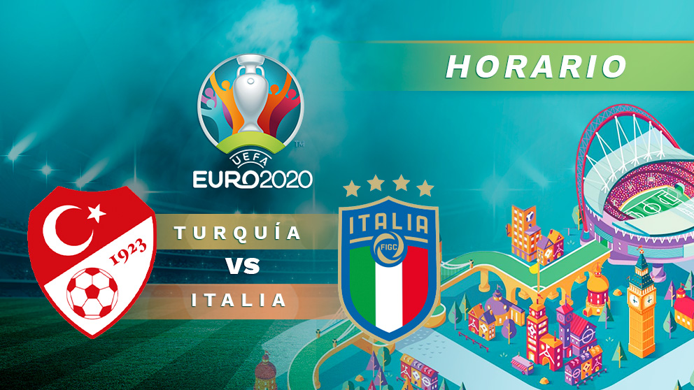 Turquía – Italia: jornada 1 de la fase de grupos de la Eurocopa.