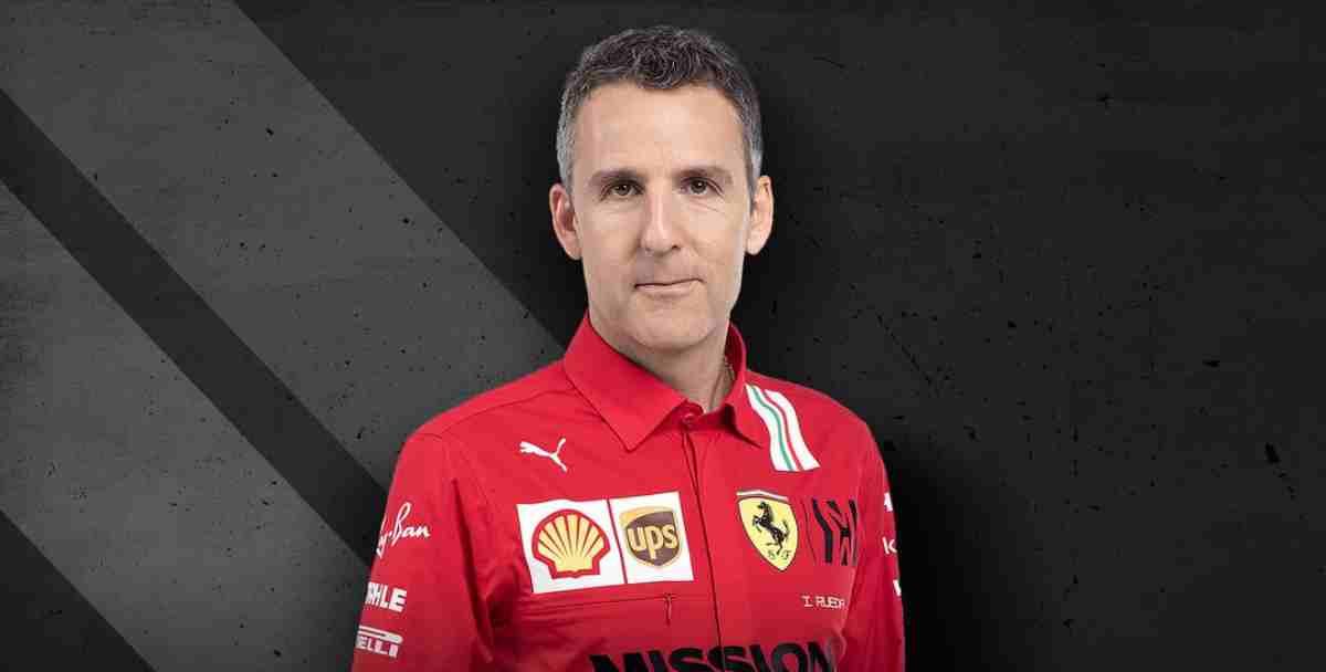 El español Iñaki Rueda, nuevo director deportivo de Ferrari. (Ferrari)