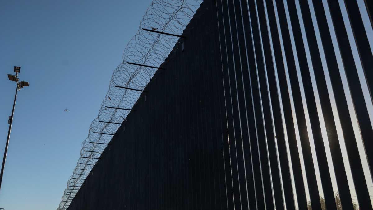 Frontera entre México y Estados Unidos. Foto: EP