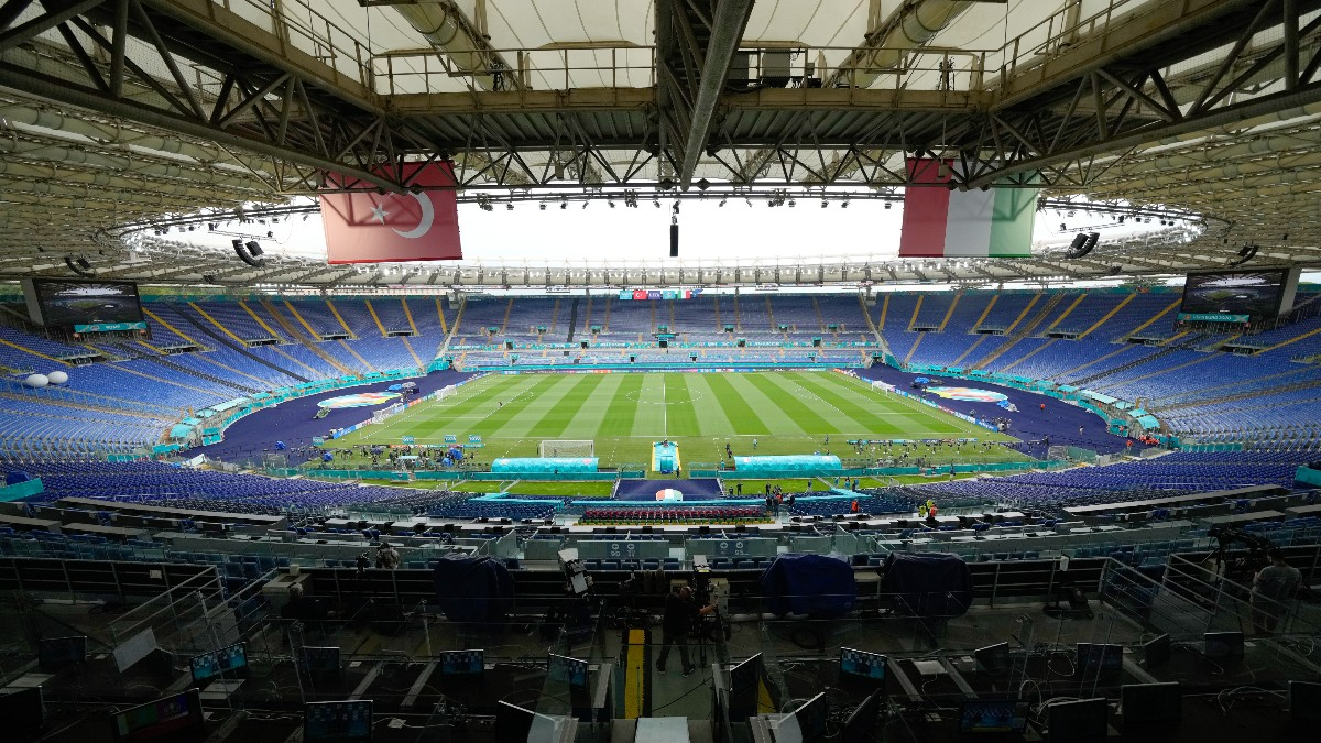 El estadio Olímpico de Roma.