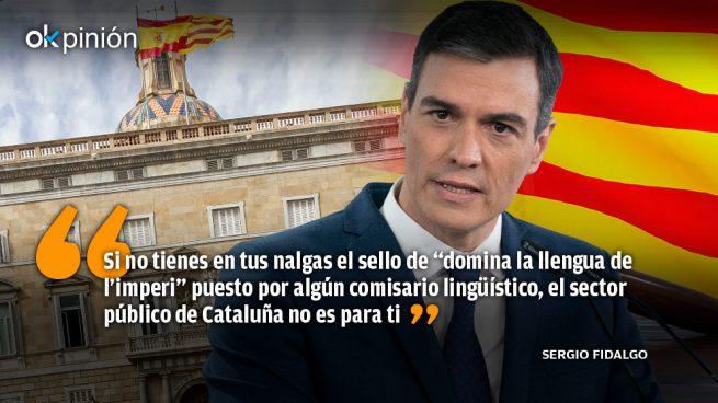 ¡Sánchez, parla la llengua de l'imperi!