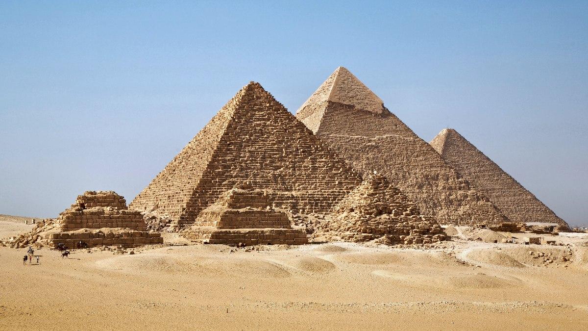 Las grandes pirámides de Egipto