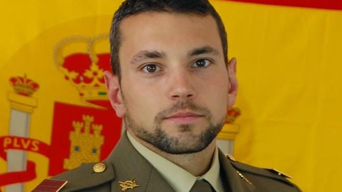 Sargento Rafael Gallart Martínez, fallecido durante un salto paracaidista al agua.