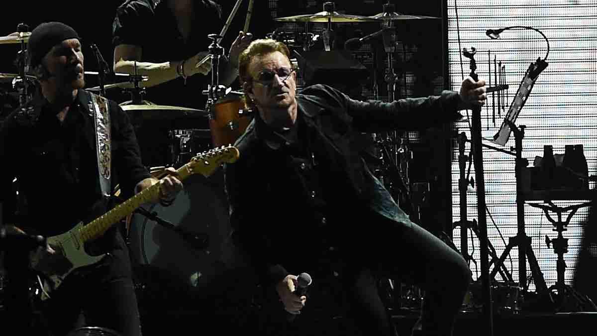 El cantante de U2, Bono. (AFP)