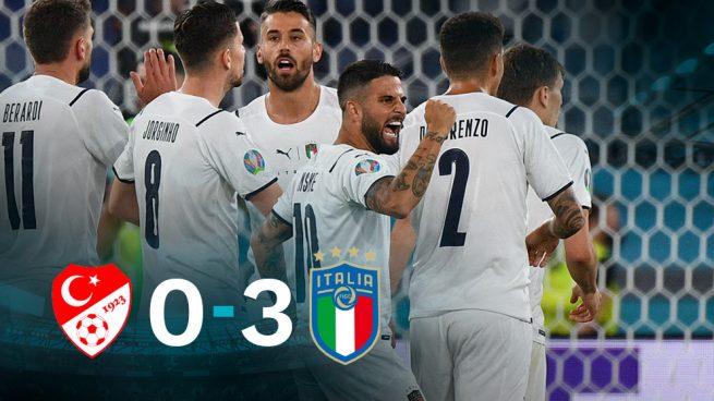 Italia se estrena a lo grande en la Eurocopa