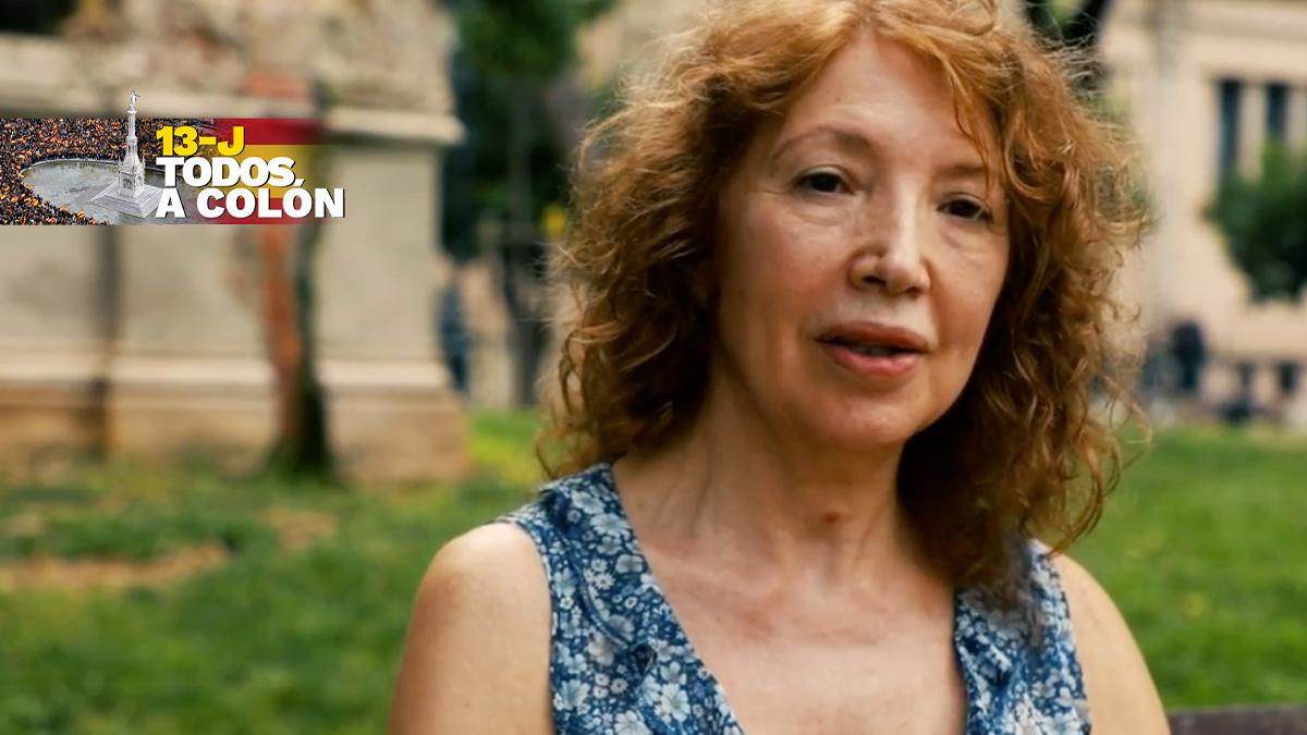 Dolores Agenjo, ex directora del Instituto Pedraforca de Hospitalet.