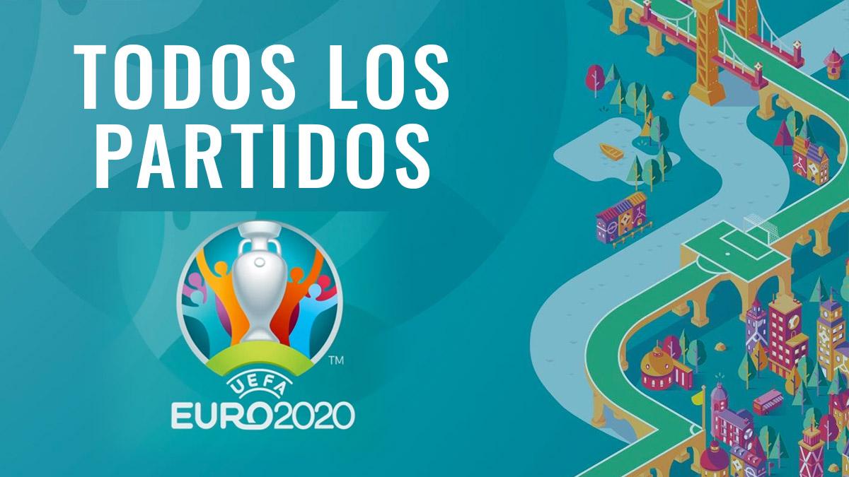 Horario y dónde ver todos los partidos de la Eurocopa.
