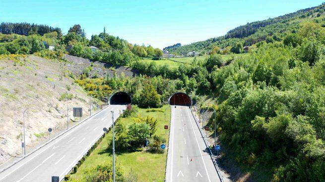 El túnel del Cereixal (Lugo): el primer túnel inteligente conectado con los vehículos
