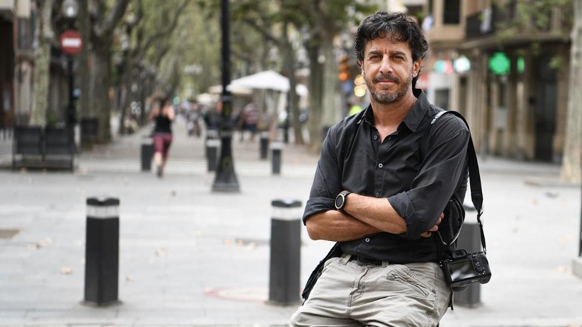 En la imagen, Emilio Morenatti.
