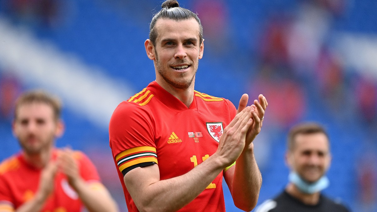 Gareth Bale, durante un partido con Gales. (Getty)