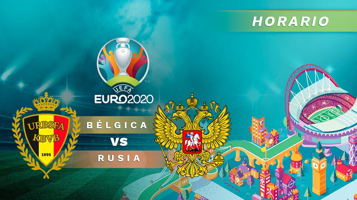 Bélgica – Rusia: jornada 1 de la fase de grupos de la Eurocopa.