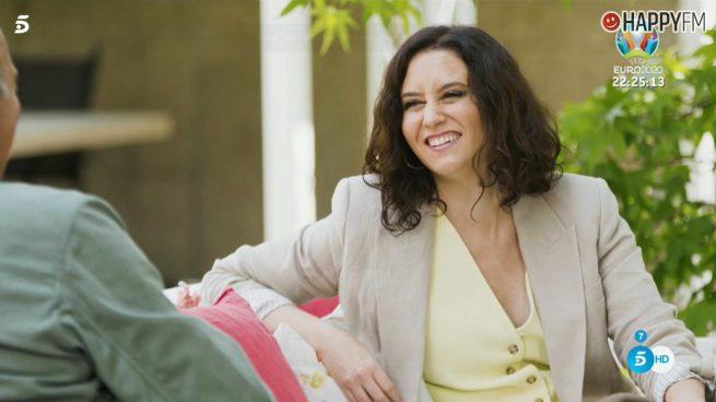 Isabel Díaz Ayuso en Mi casa es la tuya