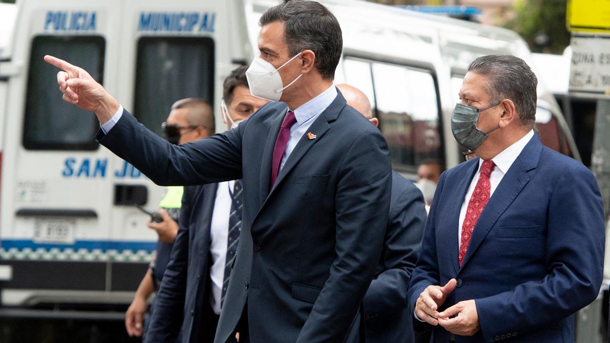 Pedro Sánchez en Costa Rica (Foto: AFP).