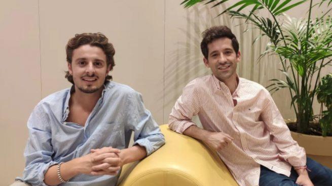 Sebastian Wornham y Iago Sanmartín, fundadores de Monkey Markets