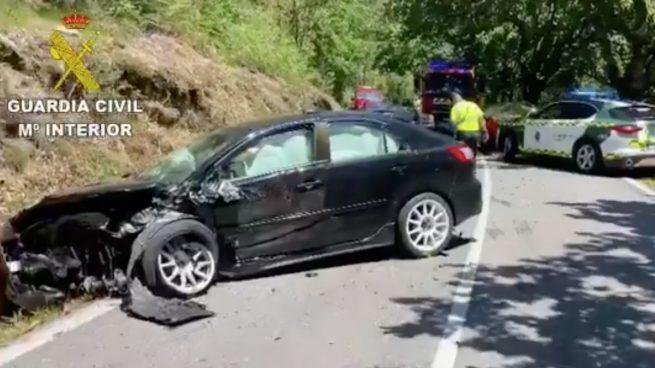 Muere el piloto Víctor Magariños tras un accidente en un rally en Pontevedra