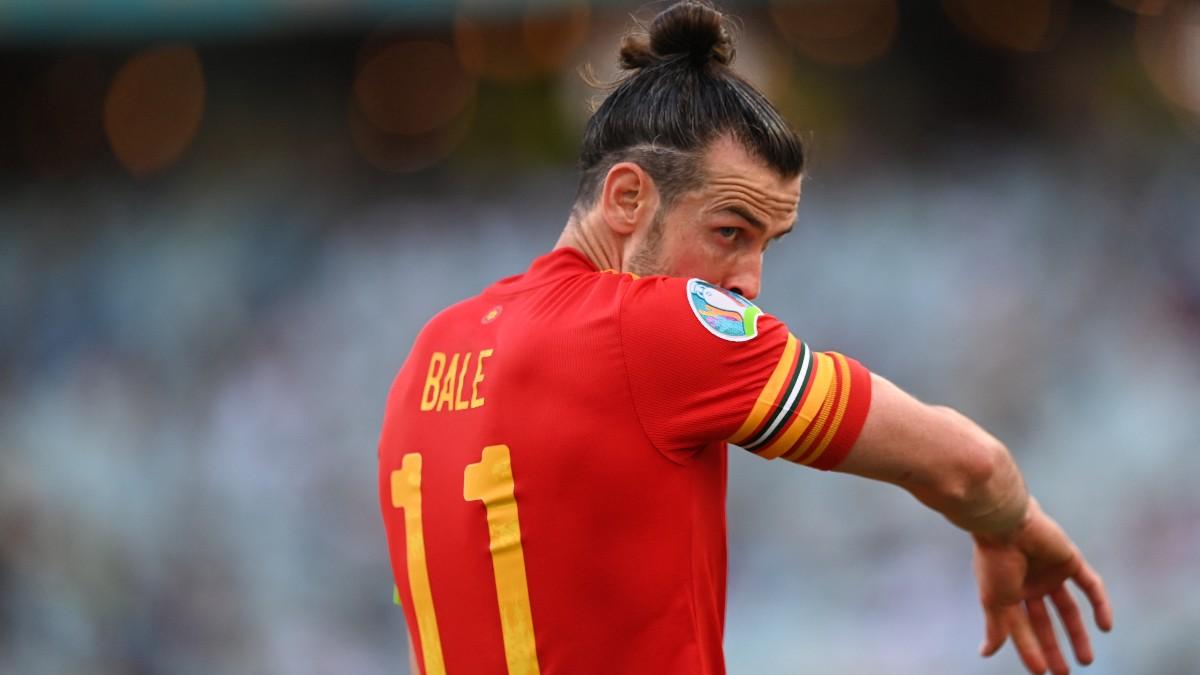 Bale, durante el Gales – Suiza. (Getty)