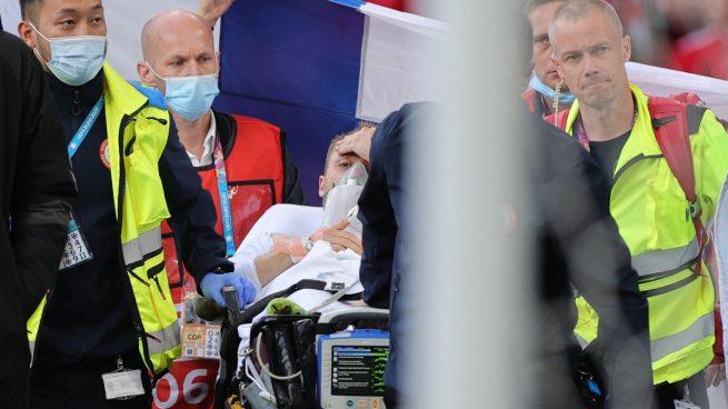 Eriksen abandona el hospital tras ser operado del corazón: «Estoy bien bajo estas circunstancias…»
