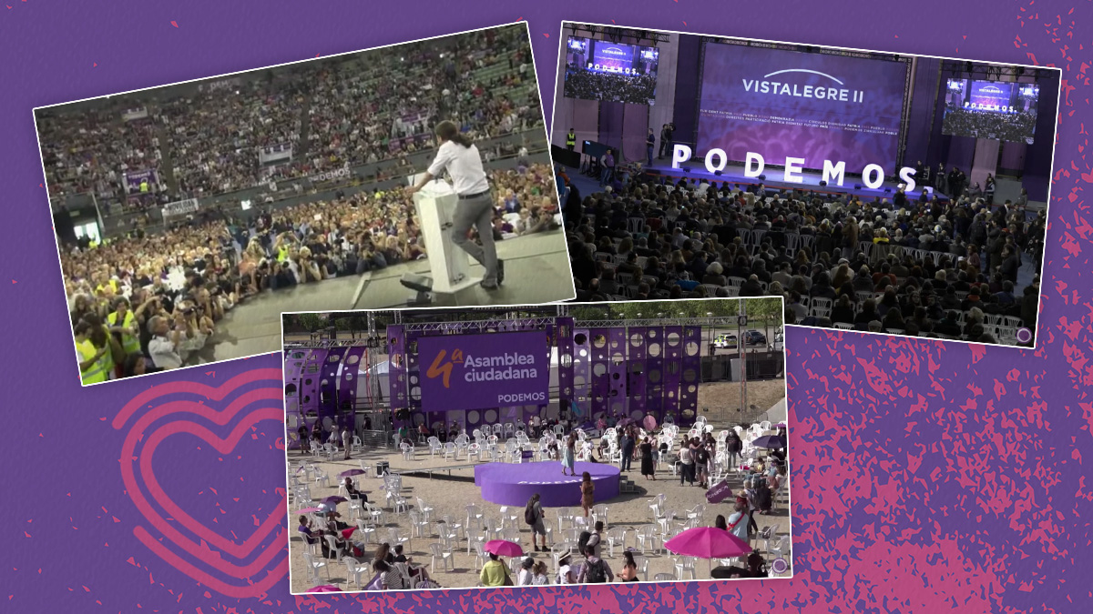 Asambleas ciudadanas de Podemos.