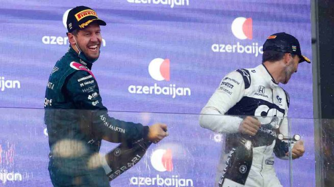Vettel y Gasly