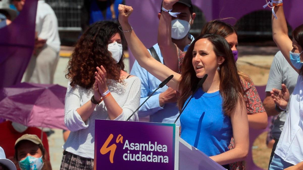 Ione Belarra, nueva líder de Podemos.