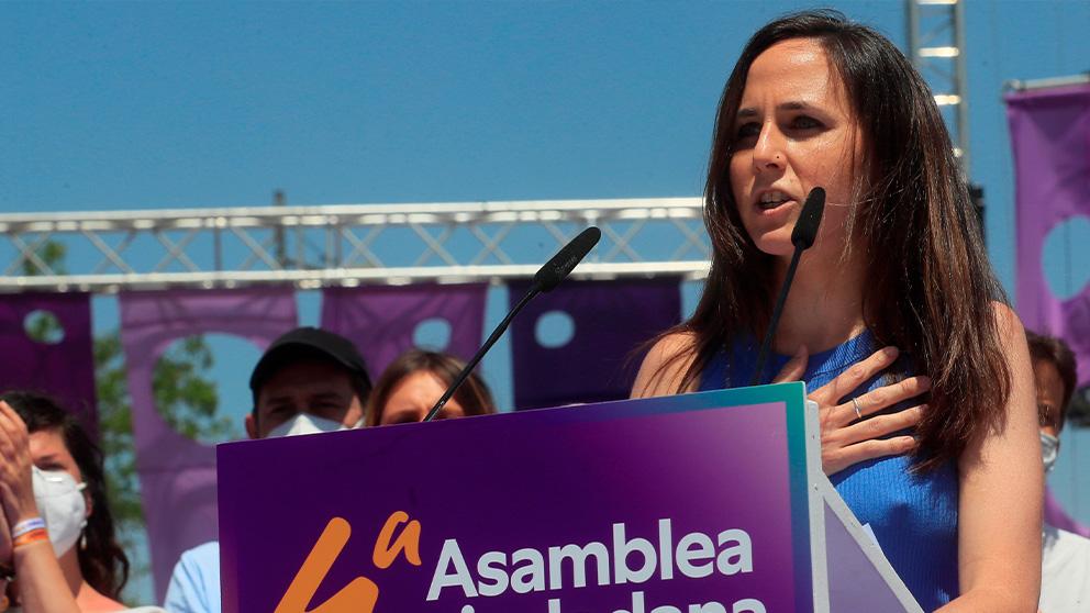 La nueva líder de Podemos, Ione Belarra.