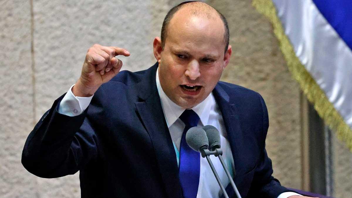 Naftali Bennett, primer ministro de Israel. Foto: AFP