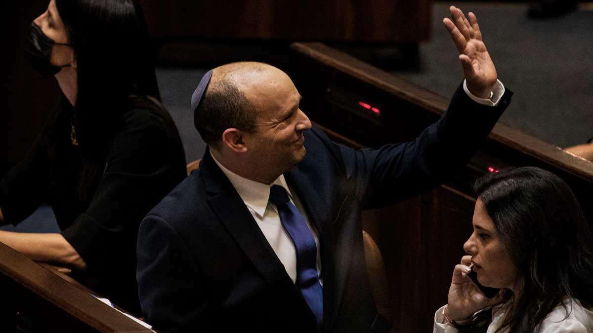 Naftali Bennett, nombrado primer ministro por el Parlamento de Israel y que sucederá a Benjamin Netanyahu en el cargo. Foto: EP