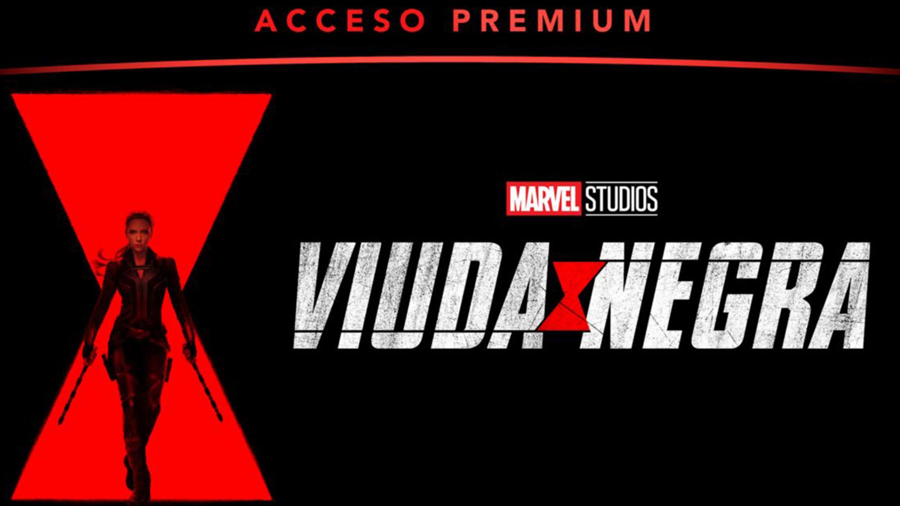 «Viuda Negra» (Disney plus Acceso Premium)