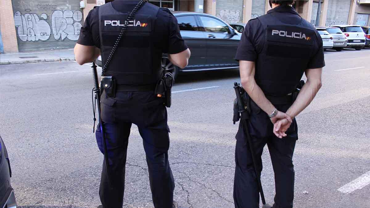 Agentes de la Policía Nacional en imagen de archivo
